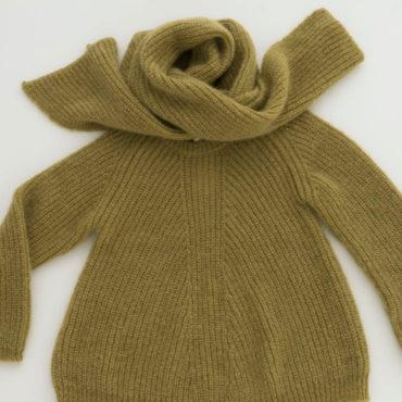 Mohair knit / stole