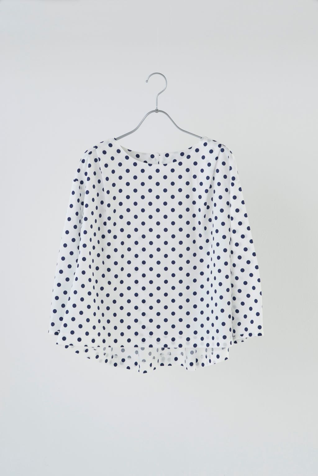 DOT PRINTTED TOP 164822 ¥15,000+tax