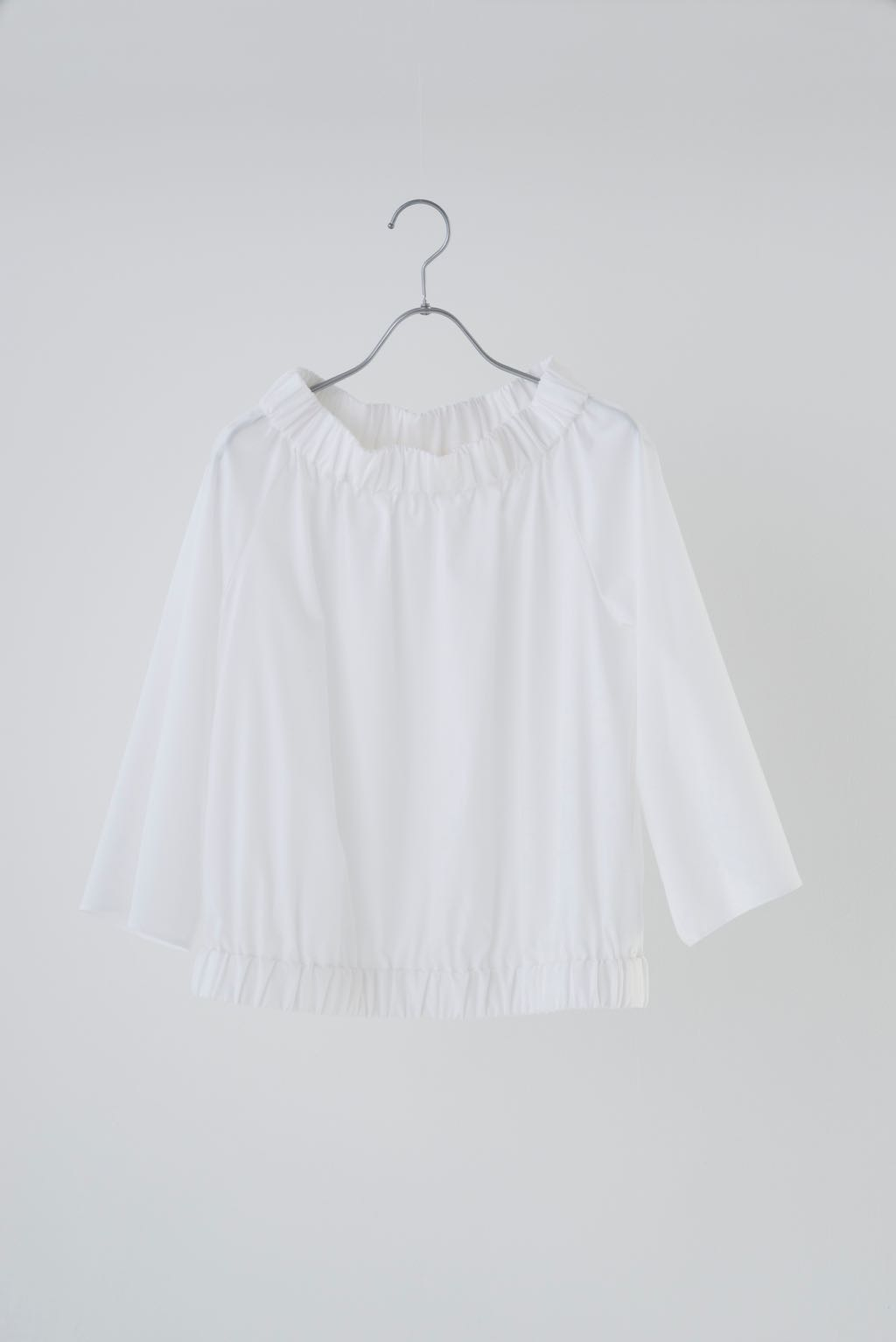 COTTON GATHERS TOP 174024 ¥15,000+tax