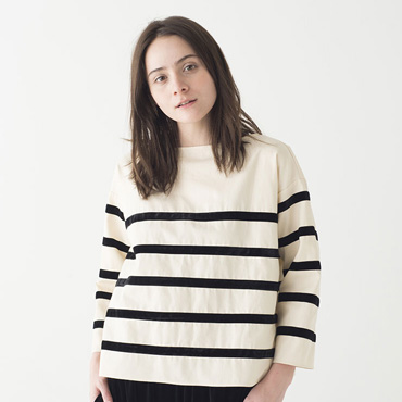 Stripe tops/Velvet pants