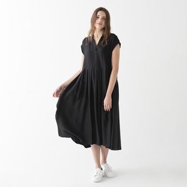 Lyocell satin dress