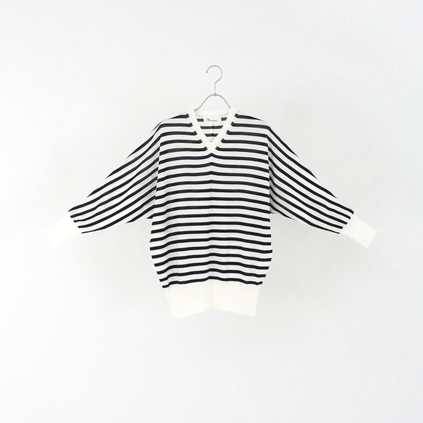 198522 white × navy ¥21,000+tax
