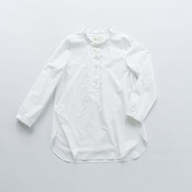 Parachute button shirt long