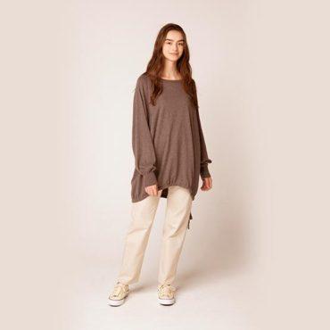 Cotton cashimere big size knit / Cottonn pants